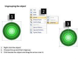 Business Flow Diagram Example Circular Ring Data Analysis And Interpretation Powerpoint Templates