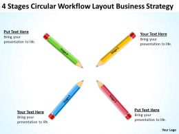 Business Flow Diagram Layout Strategy Powerpoint Templates PPT Backgrounds For Slides