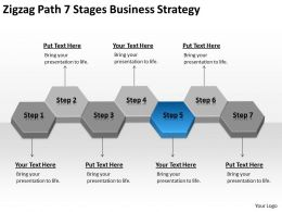 Business Flow Diagrams 7 Stages Strategy Powerpoint Templates PPT Backgrounds For Slides 0522
