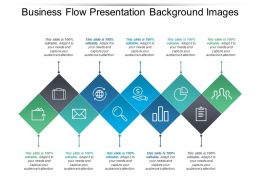 Business Flow Presentation Background Images