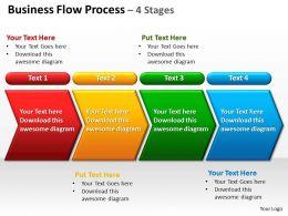 business_flow_process_4_stages_powerpoint_diagrams_presentation_slides_graphics_0912_Slide01