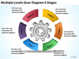 business_flowchart_examples_multiple_levels_gear_diagram_6_stages_powerpoint_templates_Slide01