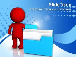Business Flowchart Examples Powerpoint Templates And Themes Computer Data Storage