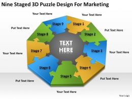 business_flowchart_nine_staged_3d_puzzle_design_for_marketing_powerpoint_slides_0515_Slide01