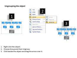 Business Flowchart Nine Staged For Marketing Sales Diagram Powerpoint Slides 0515