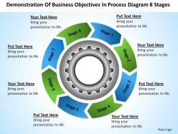 Business Flowchart Process Diagram 8 Stages Powerpoint Templates PPT Backgrounds For Slides