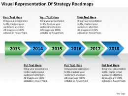 business_flowcharts_visual_representation_of_strategy_roadmaps_powerpoint_templates_Slide01