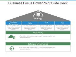 Business Focus Powerpoint Slide Deck