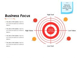 Business Focus Ppt Infographic Template