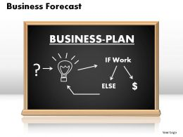 Business Forecast Powerpoint Presentation Slides