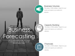 Business Forecasting Powerpoint Slides Templates