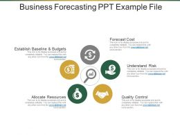 Business Forecasting Ppt Example File
