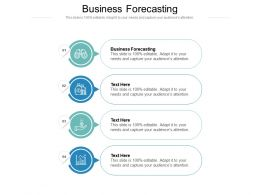 Business Forecasting Ppt Powerpoint Presentation Infographic Template Model Cpb