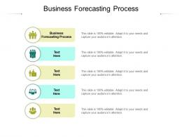 Business Forecasting Process Ppt Powerpoint Presentation Diagram Images Cpb