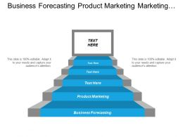 Business Forecasting Product Marketing Performance Debt Management Cpb