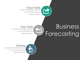 Business Forecasting Slide Powerpoint Slides Design