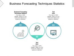 Business Forecasting Techniques Statistics Ppt Powerpoint Presentation Show Inspiration Cpb