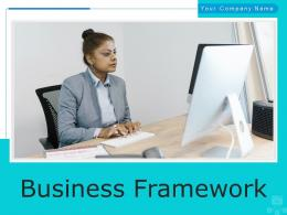 Business Framework Strategic Business Objectives Developing Planning