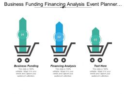 Business Funding Financing Analysis Event Planner Skills Qualities Cpb