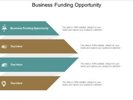 Business Funding Opportunity Ppt Powerpoint Presentation Gallery Background Cpb