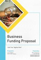 Business Funding Proposal Example Document Report Doc Pdf Ppt