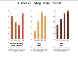 Business Funding Setup Process Ppt Powerpoint Presentation Gallery Images Cpb