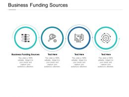 Business Funding Sources Ppt Powerpoint Presentation Gallery Influencers Cpb