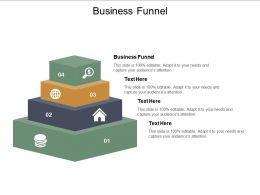 Business Funnel Ppt Powerpoint Presentation Outline Smartart Cpb