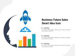 Business Future Sales Smart Idea Icon