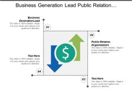 Business Generation Lead Public Relation Organizations Sales Processes