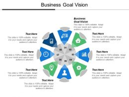 Business Goal Vision Ppt Powerpoint Presentation Model Guide Cpb
