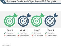 18342273 Style Essentials 2 Our Goals 4 Piece Powerpoint Presentation Diagram Infographic Slide