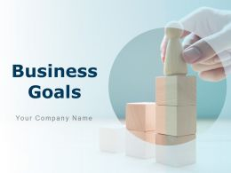 Business Goals Customer Service Profitability Market Growth Revenue Goals Community Outreach Goals