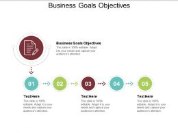 Business Goals Objectives Ppt Powerpoint Presentation File Layout Ideas Cpb
