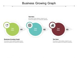 Business Growing Graph Ppt Powerpoint Presentation Model Templates Cpb