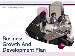 Business Growth And Development Plan Powerpoint Presentation Slides