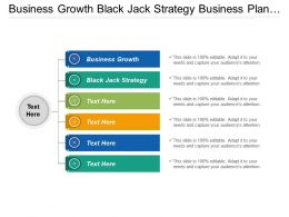 Business Growth Black Jack Strategy Business Plan Projections