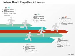 Business Growth Competition And Success Flat Powerpoint Design