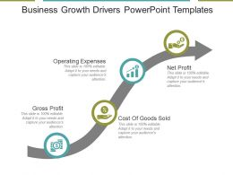 Business Growth Drivers Powerpoint Templates