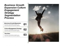 Business Growth Expansion Culture Engagement Strategy Segmentation Process Cpb