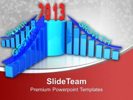 Business Growth Finace Year 2013 Powerpoint Templates Ppt Themes And Graphics 0113