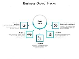 Business Growth Hacks Ppt Powerpoint Presentation Inspiration Show Cpb