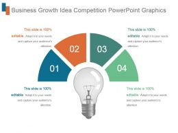 Business Growth Idea Competition Powerpoint Graphics