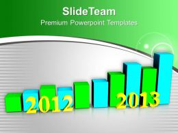 business_growth_per_year_2012_to_2013_powerpoint_templates_ppt_backgrounds_for_slides_0113_Slide01