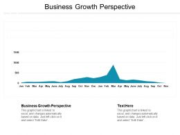 Business Growth Perspective Ppt Powerpoint Presentation Gallery Professional Cpb