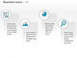 Business Growth Pie Bar Graph Ppt Icons Graphics