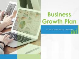 Business Growth Plan Powerpoint Presentation Slides