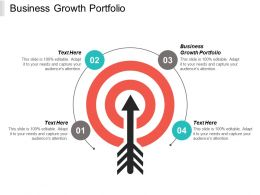 Business Growth Portfolio Ppt Powerpoint Presentation Infographic Template Backgrounds Cpb