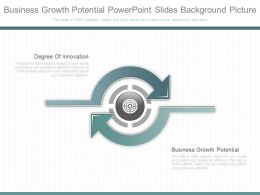 Business Growth Potential Powerpoint Slides Background Picture