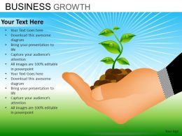 Business Growth Powerpoint Presentation Slides DB